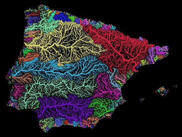 Iberia_rivers