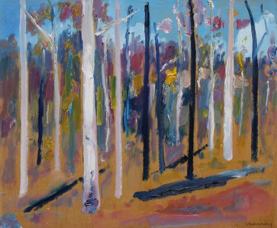 Burnt Forest, Yarra Ranges I, by Donald Ramsay